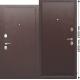 Стальная дверь Гарда мини металл-металл