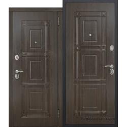 Стальная дверь Виктория Темный кипарис