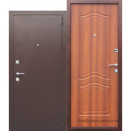 Стальная дверь Доминанта Рустикальный дуб