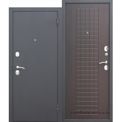 Стальная дверь Гарда муар 8 мм Венге FERRONI