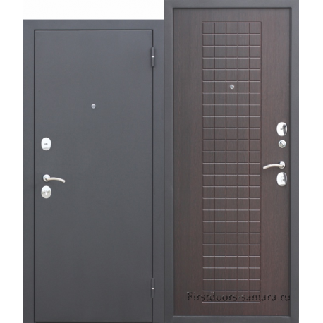 Стальная дверь Гарда муар 8 мм Венге