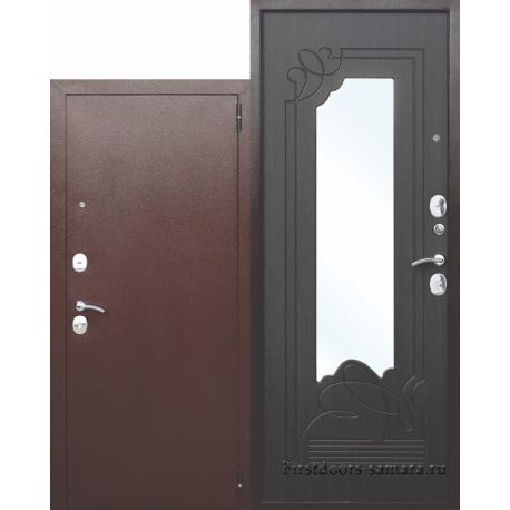 Стальная дверь Ампир Венге зеркало
