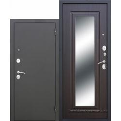 Стальная дверь Царское зеркало МУАР Венге