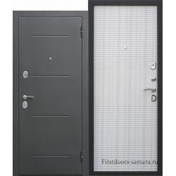 Стальная дверь Гарда муар белый ясень