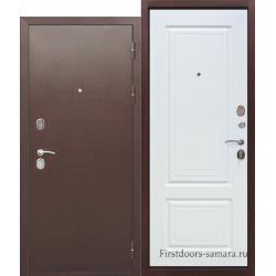 Стальная дверь Толстяк РФ Белый ясень
