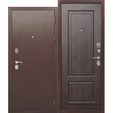 Стальная дверь Толстяк РФ Венге