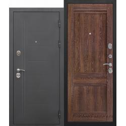Стальная дверь Троя Троя муар Орех сиена Царга