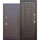 Стальная дверь Isoterma медный антик Венге