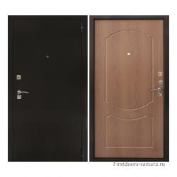 Стальная дверь Тайгер Гост Мини (медь/миланский орех)