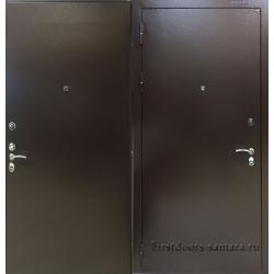 Стальная дверь Маркус оптима метл/метл
