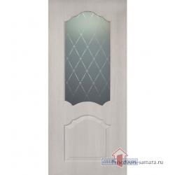 Межкомнатная дверь ДО Виола ПВХ Крем