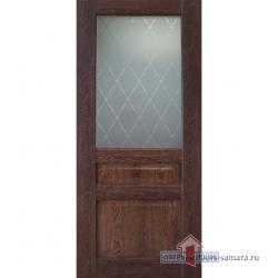 Межкомнатная дверь ДО Диана ПВХ Коньяк