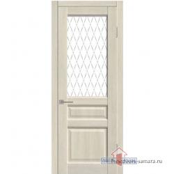 Межкомнатная дверь ДО Диана ПВХ Крем