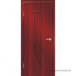 Межкомнатная дверь ДГ Комета Итальянский орех