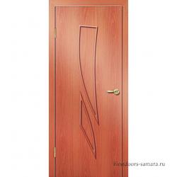 Межкомнатная дверь ДГ Комета Миланский орех