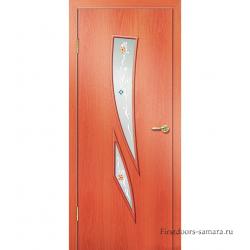 Межкомнатная дверь ДО Комета Миланский орех