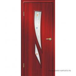 Межкомнатная дверь ДО Комета Итальянский орех