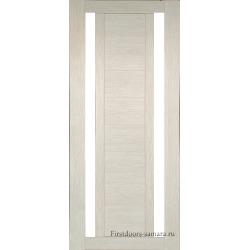 Межкомнатная дверь №15 3D Cappuccino Ст Белое