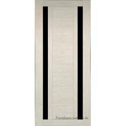 Межкомнатная дверь №15 3D Cappuccino Ст Черное