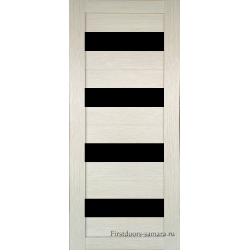Межкомнатная дверь №16 3D Cappuccino Ст Черное