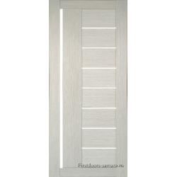 Межкомнатная дверь №17 3D Cappuccino Ст Белое