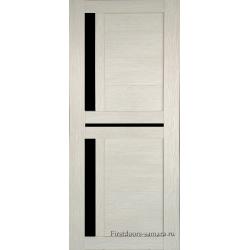 Межкомнатная дверь №19 3D Cappuccino Ст Черное