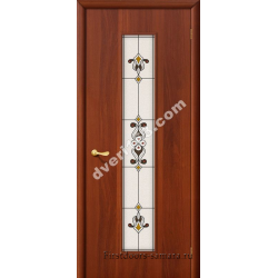 Межкомнатная дверь 23Х итал. орех