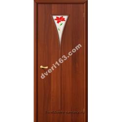 Межкомнатная дверь 3П итал.орех