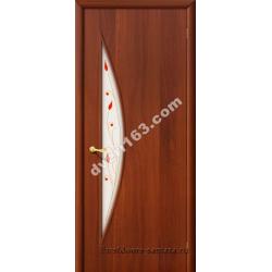 Межкомнатная дверь 5П итал.орех