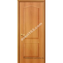 Межкомнатная дверь Палитра мил.орех (без стекла)