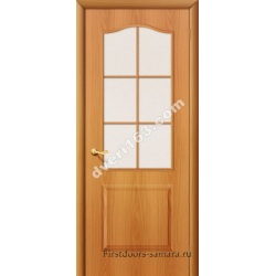 Межкомнатная дверь Палитра мил.орех