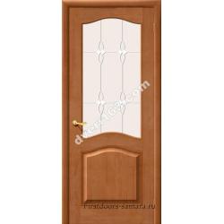Межкомнатная дверь М-7 Светлый лак