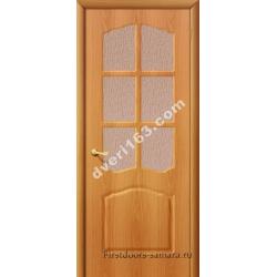 Межкомнатная дверь Азалия мил.орех