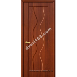 Межкомнатная дверь Вираж итал.орех (без стекла)