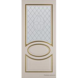 Межкомнатная дверь Неаполь Ясень золотой Золото