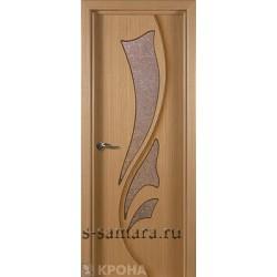 Межкомнатная дверь ДО Лидия дуб