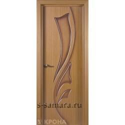Межкомнатная дверь ДГ Лидия дуб