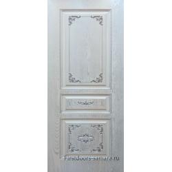 Межкомнатная дверь Премиум-3 Серебро