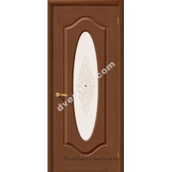 Межкомнатная дверь Аура Орех