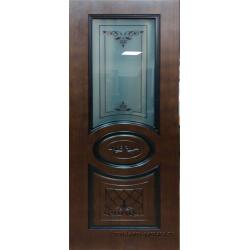 Межкомнатная дверь Палермо ПО Ф-17 Шоколад