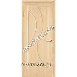Межкомнатная дверь Стелла Беленый дуб (без стекла)