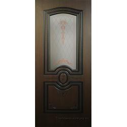 Межкомнатная дверь Австрия ПО Венге/Черная