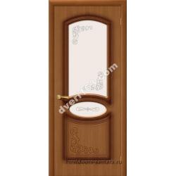 Межкомнатная дверь Муза Орех