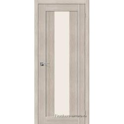 Межкомнатная дверь Порта-25 alu Cappuccino Veralinga
