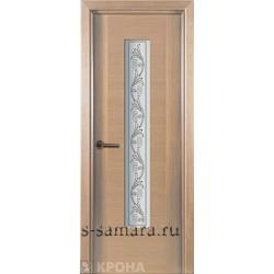 Межкомнатная дверь ДО Карат Беленый дуб