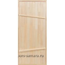 Межкомнатная дверь банная на иглах