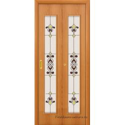 Межкомнатная дверь 23Х Л-12 (МиланОрех)