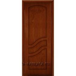 Межкомнатная дверь ДГ Ривьера орех