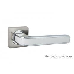 Дверные ручки S-Locked A-115 CP/sn/White