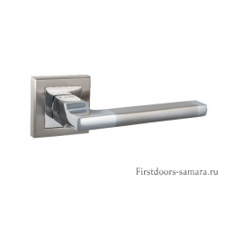 Дверные ручки S-Locked A-120 SN/CP